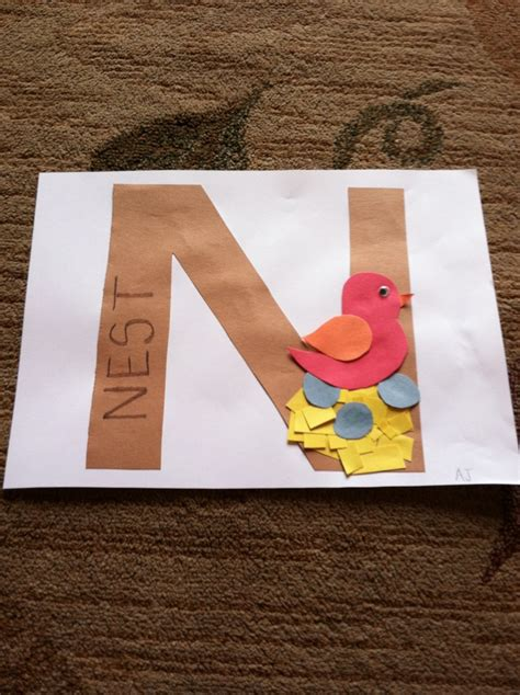 13 best letter n crafts images on letter n 189 | cbe094b143e7437918a9bfff65b1c6f8 letter n crafts yarn projects