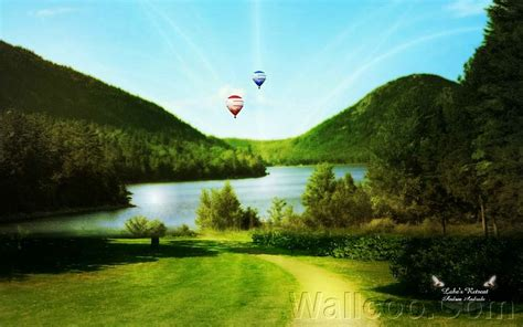 ps scenery photoshop manipulated landscape wallpapers