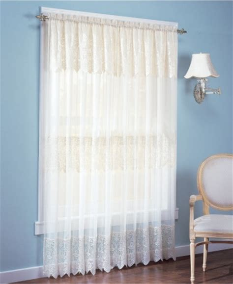 Macy Curtains For Living Room Malaysia by 10 Best Lace Curtains In 2017 Classic Sheer Lace Curtains