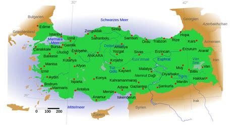 Ģeogrāfiskā karte - Turcija - 1,400 x 752 Pikselis - 562 ...