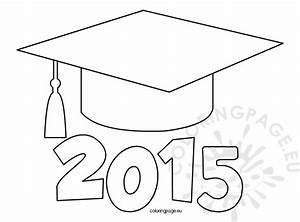 graduation coloring pages - 28 images - graduation hat and ...
