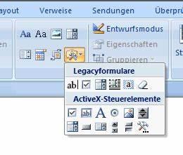 Excel Kalenderwoche Berechnen : word formulare unter word 2007 webmacher ~ Themetempest.com Abrechnung