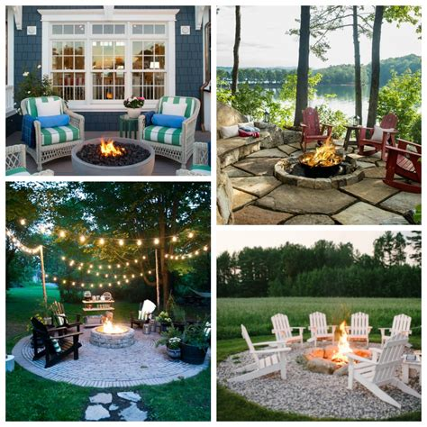 outdoor pit areas stunning inspiring outdoor fire pit areas the happy housie