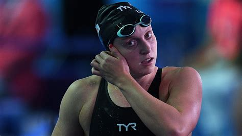 But as she qualified at u.s. Katie Ledecky drops 2 events at world swimming championships
