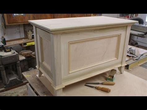 build  blanket chest part  making  top  jon peters