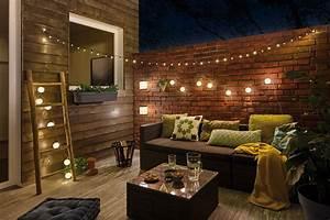 terrassengestaltung mit ideen und beispielen paulmann licht With garten planen mit außenbeleuchtung weihnachten balkon