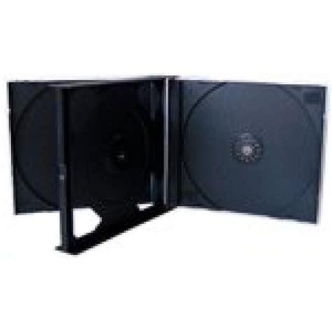 Triple Cddvd Jewel Case (black Insert)  8 Box