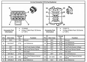 1998 Chevy Cavalier Fuel Pump Wiring Diagram