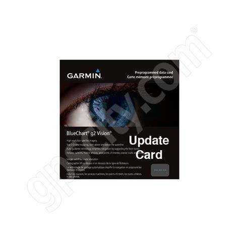 garmin bluechart  vision update card