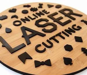 laser cut signage online laser cutting With laser lettering