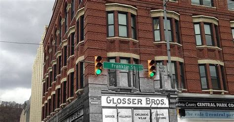 johnstown pa glosser brothers store then and now old