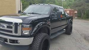 2008 Ford F250 Powerstroke 6 4 Lifted On 20s 35s  Black