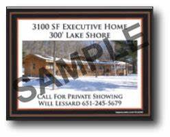 yard signs 24 x 18 full color single side custom fast With individual letter yard signs