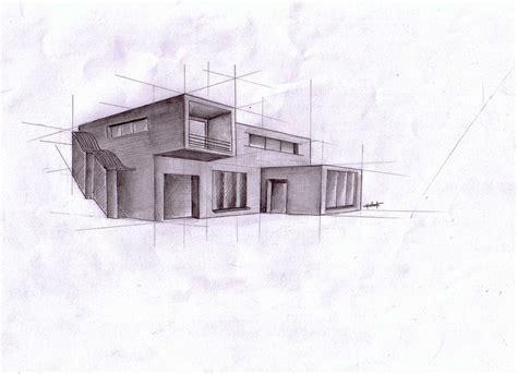 Modern House Drawing Design