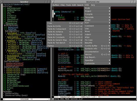 Emacs Vhdl Mode