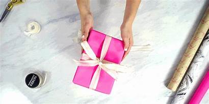 Gift Wrapping Wrap Present Step Simple Steps