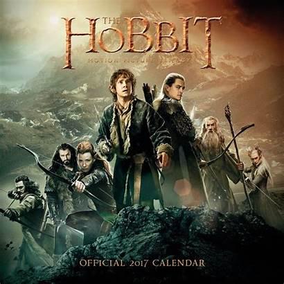 Hobbit Kalender Calendrier Europosters Anglais Kalendarz Trylogia