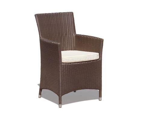 Riviera Rattan Garden Chair, Wicker Armchair, Flat Weave
