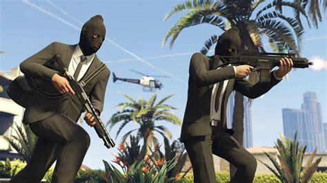 Grand Theft Auto V Gets An Online Heists Trailer Nerd