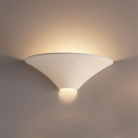 Small Wall Light Fixtures by 17 5 Quot Large Funnel Contemporary Ceramic Sconce