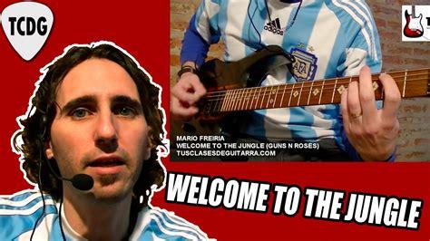 Como Tocar Welcome To The Jungle En Guitarra (guns N Roses