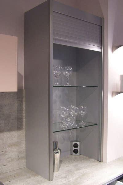 meuble cuisine volet roulant armoire cuisine coulissante meuble cuisine rideau