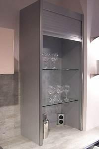 Meuble Cuisine Rideau Coulissant : armoire cuisine coulissante kessebohmer element ~ Dailycaller-alerts.com Idées de Décoration