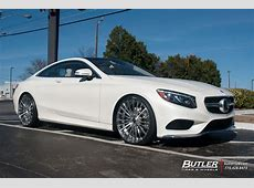 Mercedes SClass Coupe with 22in Savini SV61d Wheels