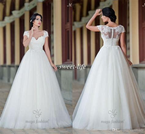 modern wedding dresses   short sleeves strapless