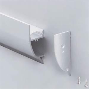 Profilé Aluminium Pour Veranda Vente Particulier : profil led corniche complet en alu 42 x 16 mm mod le prfdbl1403 sur deco led eclairage ~ Melissatoandfro.com Idées de Décoration