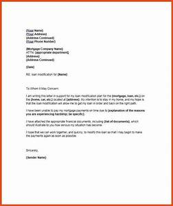 financial hardship letter moa format With example hardship letters for loan modification