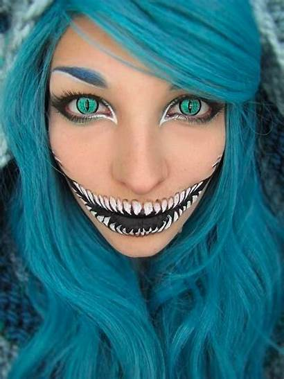 Halloween Makeup Cheshire Cat Mtv Transformations Blowing
