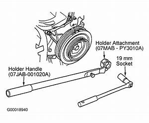 2000 Honda Accord Serpentine Belt Routing And Timing Belt