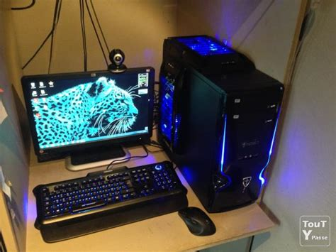 ordinateur bureau gamer pc gamer intel i5