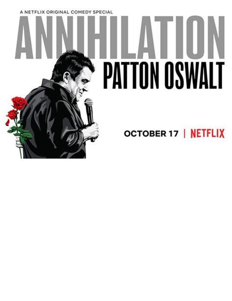 patton oswalt into the spider verse patton oswalt annihilation netflix movie large poster
