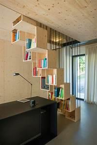 bibliotheque sous escalier bois myqtocom With meuble bar moderne design 8 quel meuble sous escalier choisir archzine fr