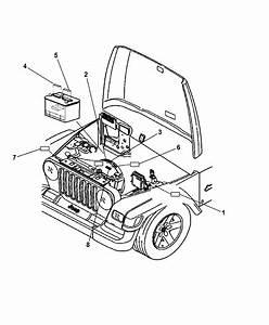 2007 Jeep Wrangler Engine Compartment