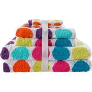 Buy ColourMatch 6 Piece Towel Bale Bright Spots at Argos.co.uk Your Online Shop for Towels