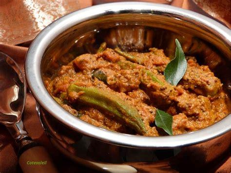 cuisiner les gombos gombos a l 39 indienne ou okra aux sept epices inde côté
