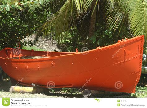 Orange Boat by Orange Boat Stock Photography Image 564862