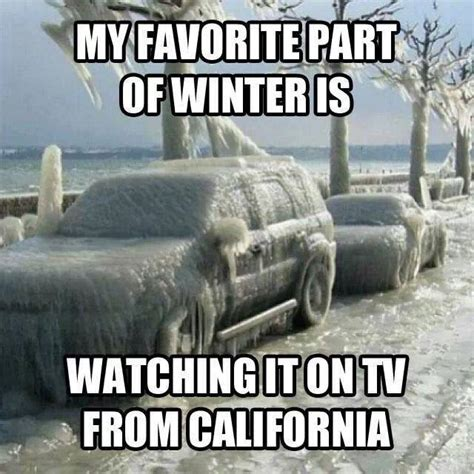 Memes About Winter - my favorite part of winter