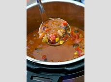 Easy Instant Pot Taco Soup Recipe · The Typical Mom