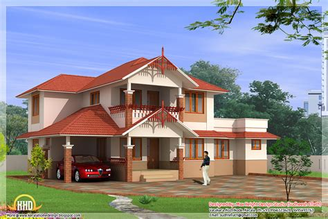 3 Awesome Indian home elevations - Kerala home design and