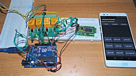 arduino based home automation project
