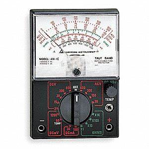 Amprobe Analog Multimeter  600 Max  Ac Volts