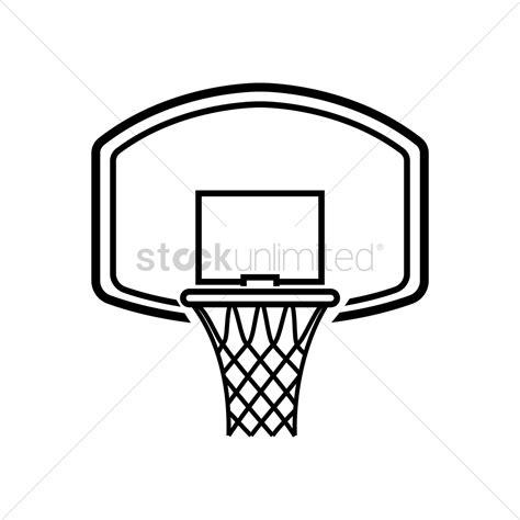 basketball net clipart basketball hoop vector image 1979496 stockunlimited