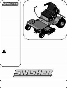 Swisher Lawn Mower Zt17542 User Guide