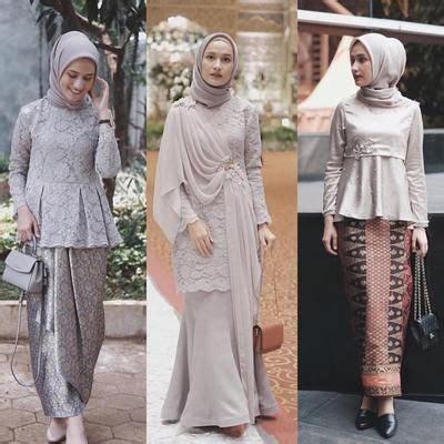 model kebaya hijab remaja terupdate  model baju