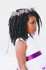 Kids Twist Hairstyles for Natural Hair