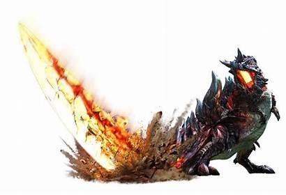Monster Hunter Generations Glavenus Partie Dessous Localisation